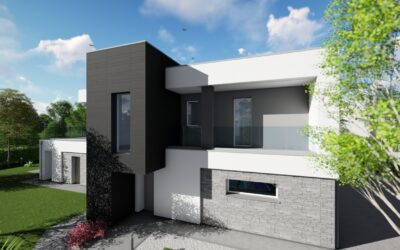 Una villa moderna