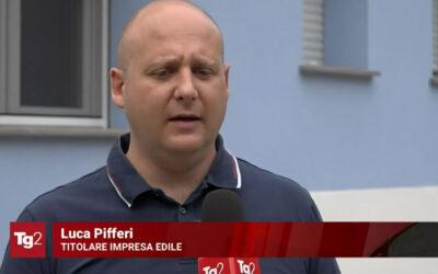 Il nostro Luca Pifferi intervistato dal Tg2